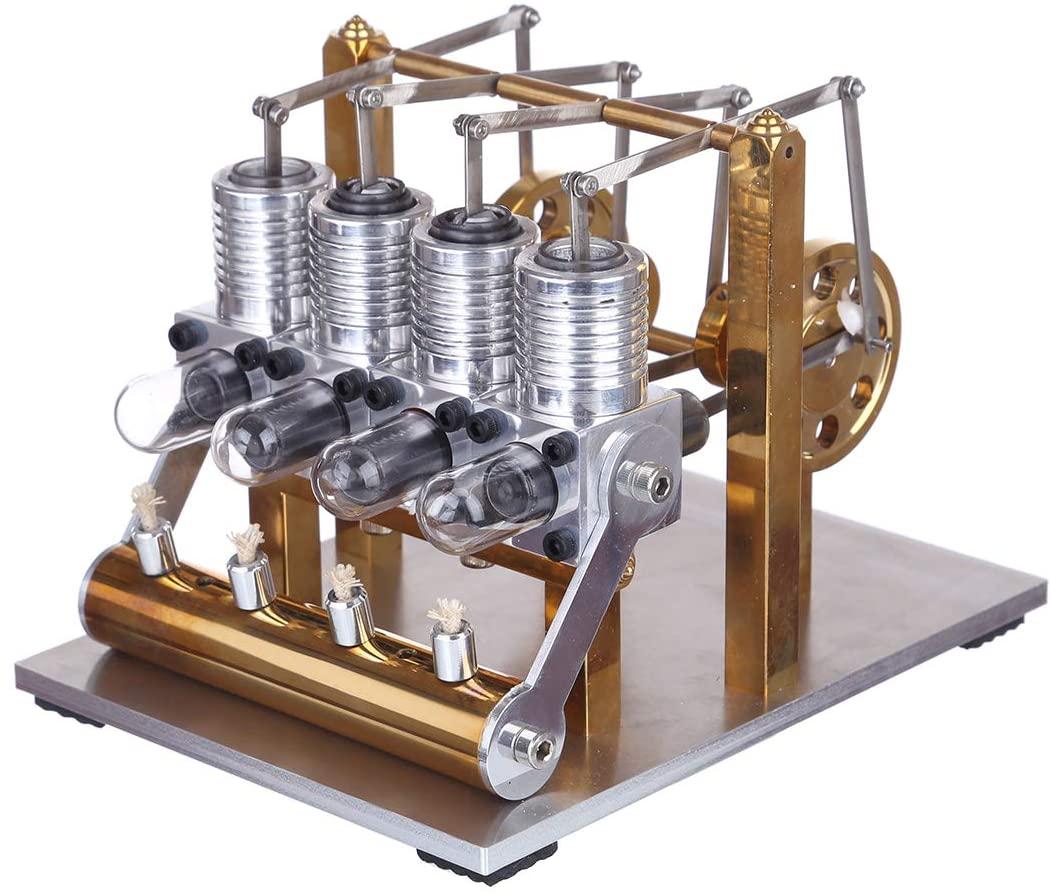 4-cylinder Stirling Engine
