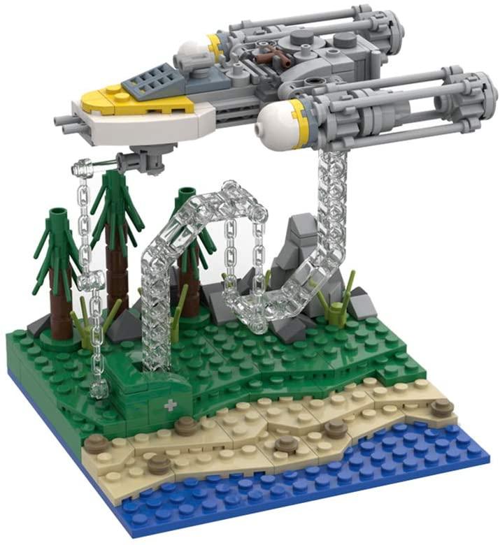 Anti-Gravity Building Block spaceship