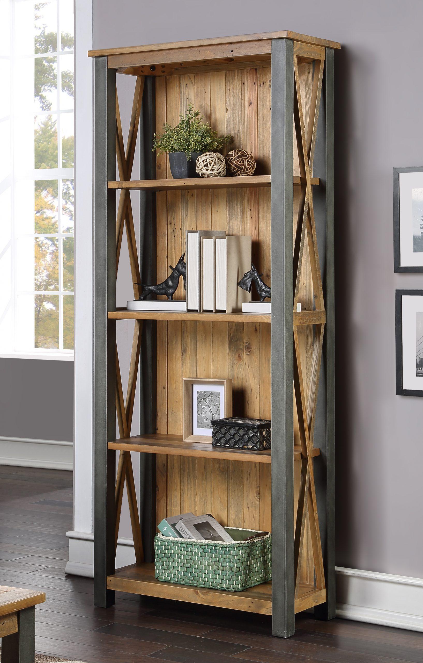tall 4-tier bookcase