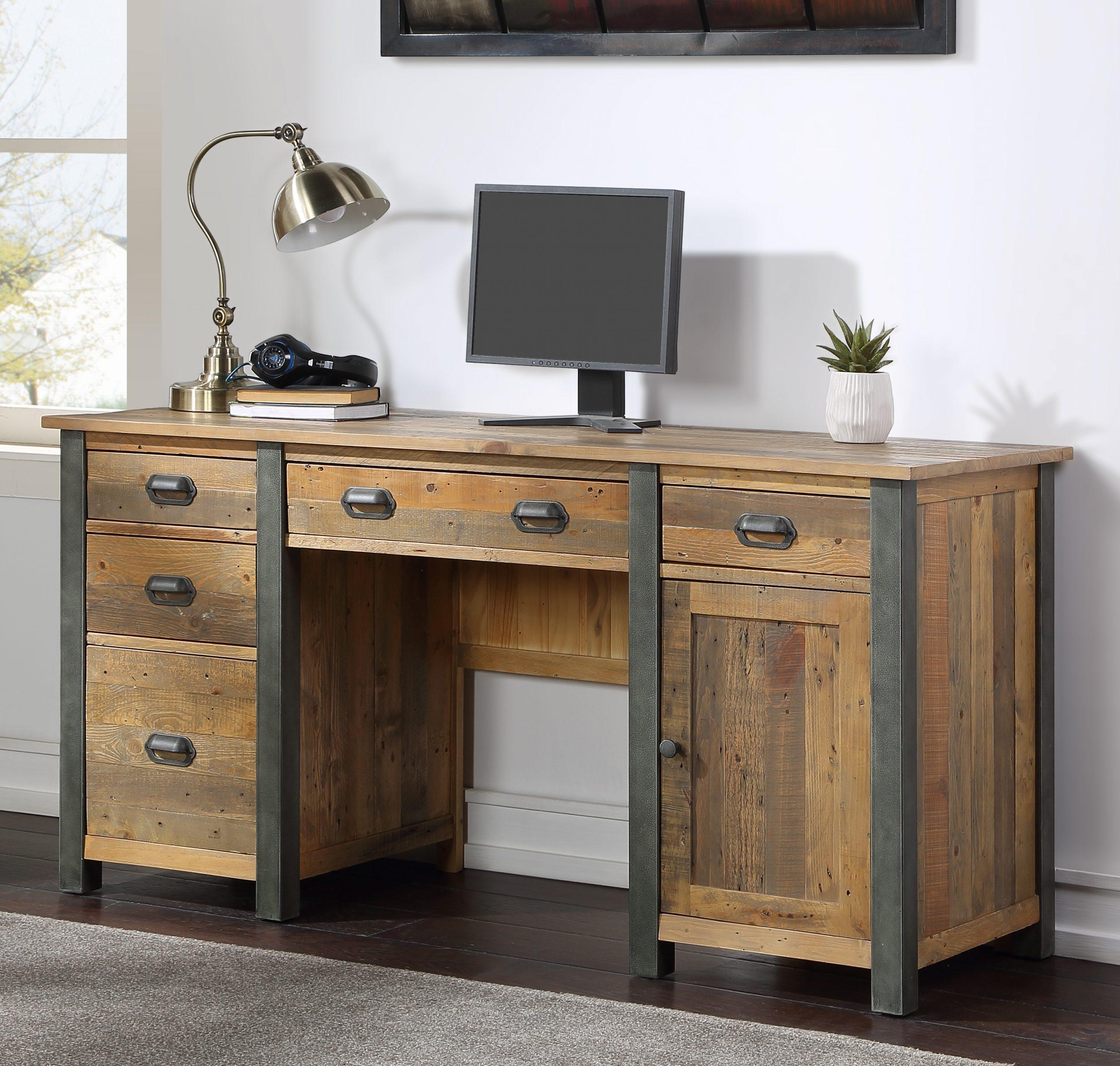 Twin Pedestal desk