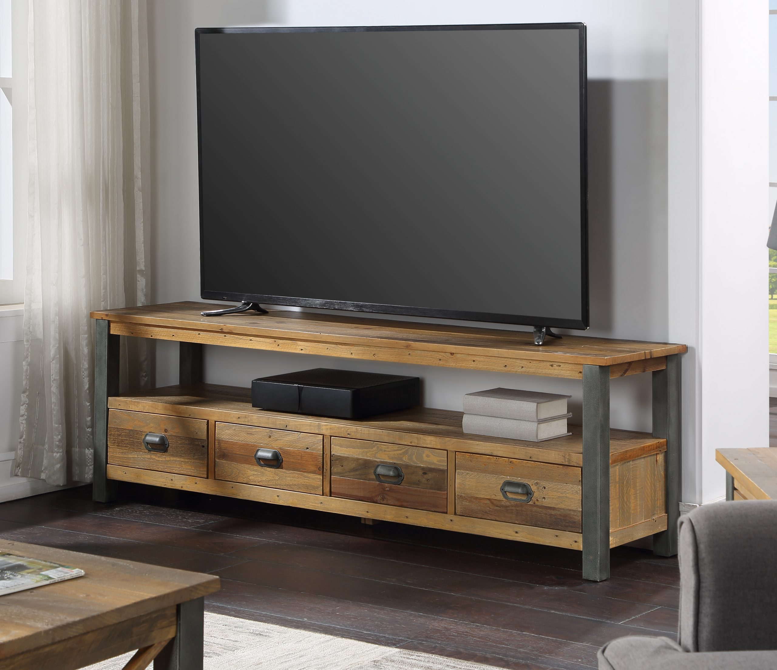 four drawer TV/HiFi cabinet