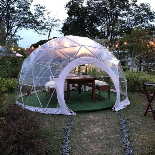 garden geodesic dome