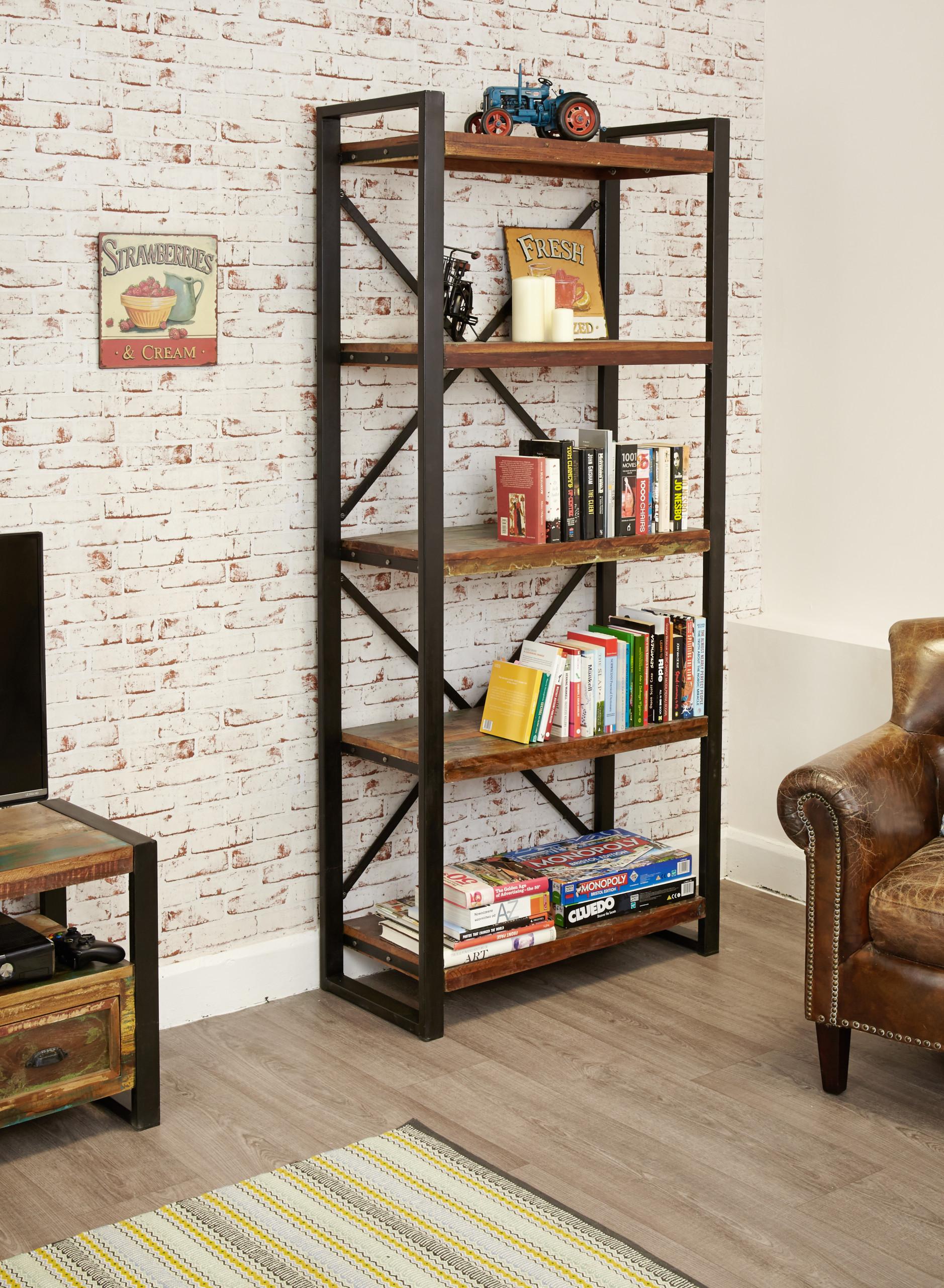 urban chic tall open bookcase