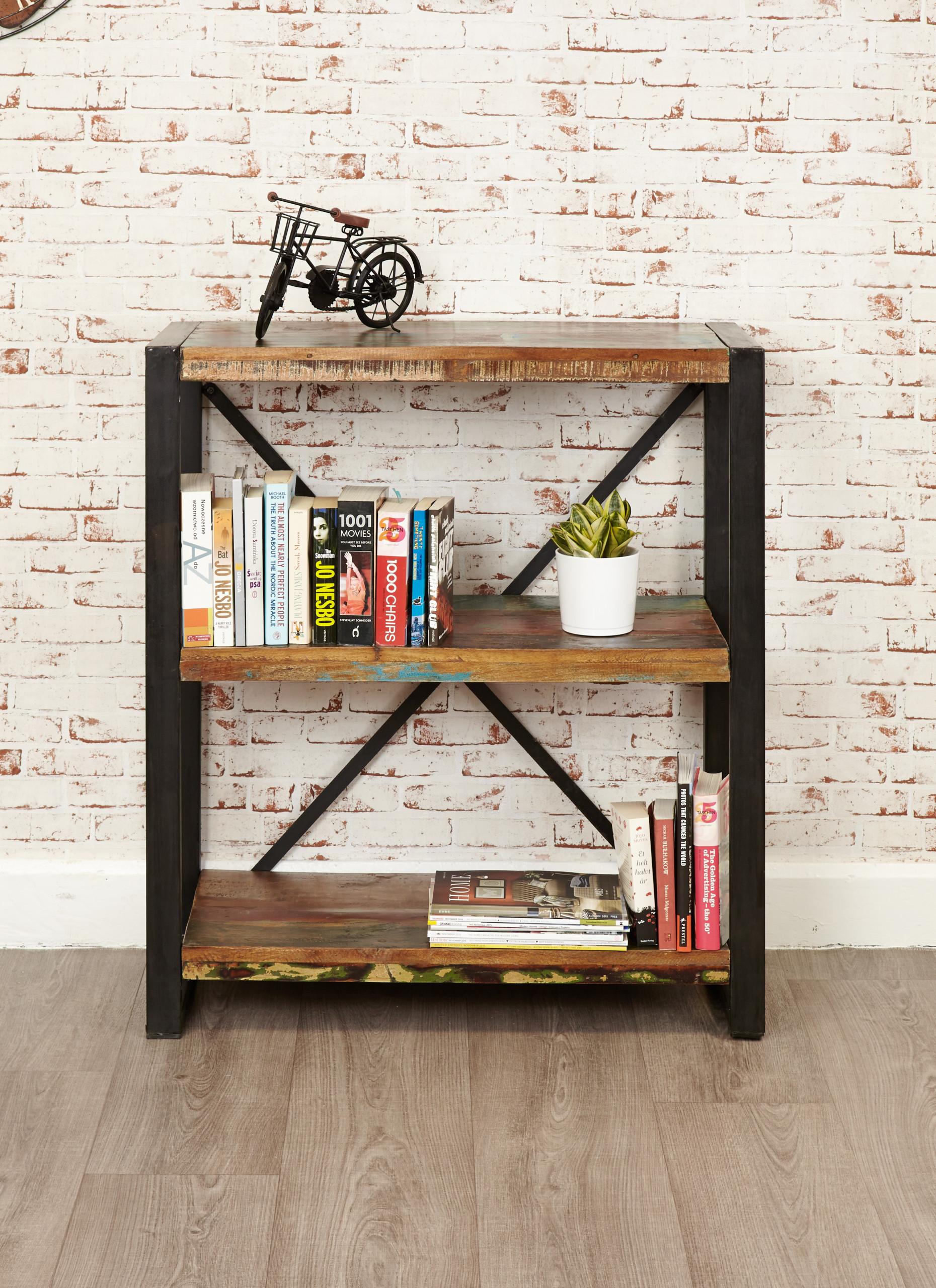 urban chic low-level bookcase