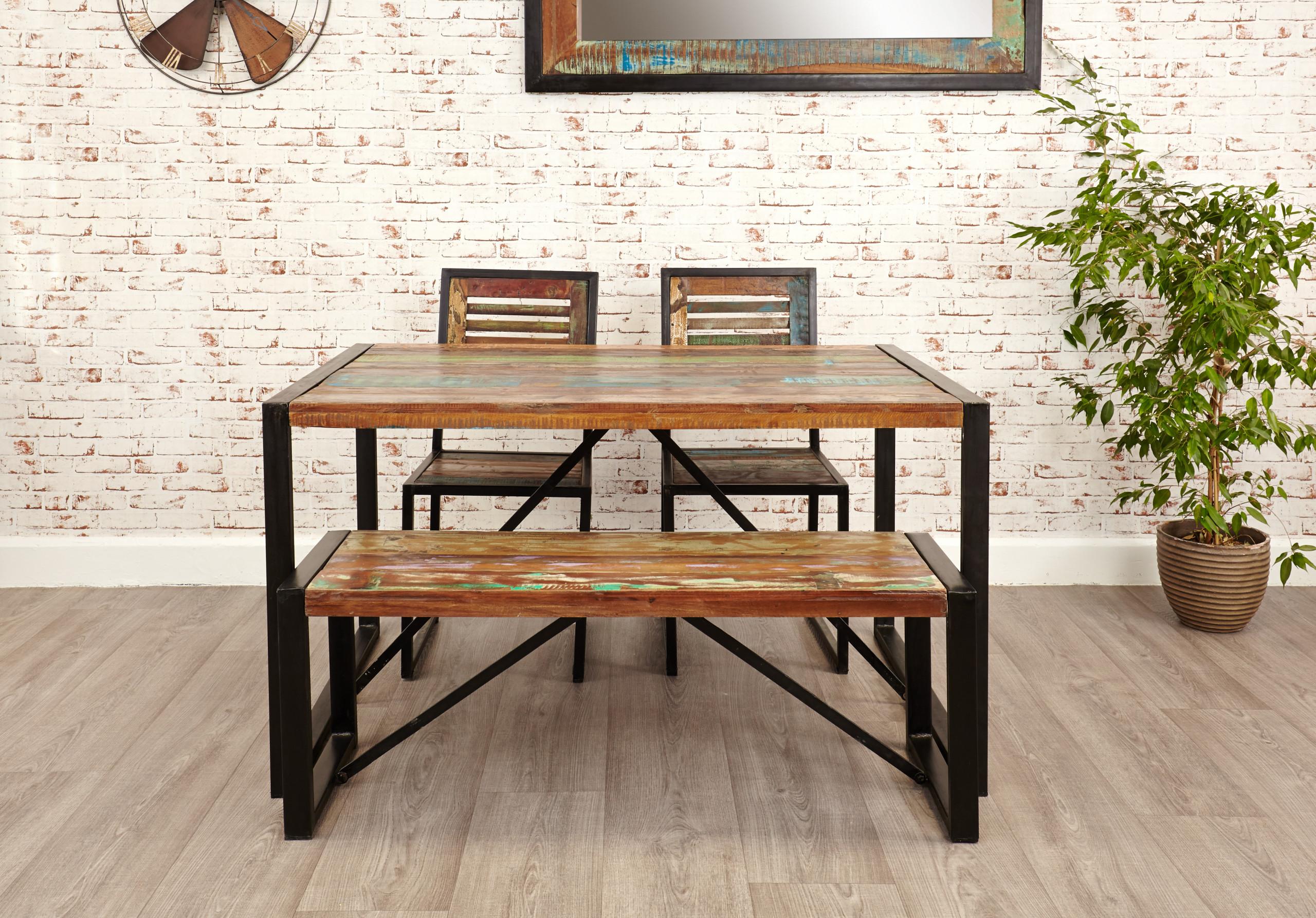 Urban Chic: Dining Bench (seats 2)