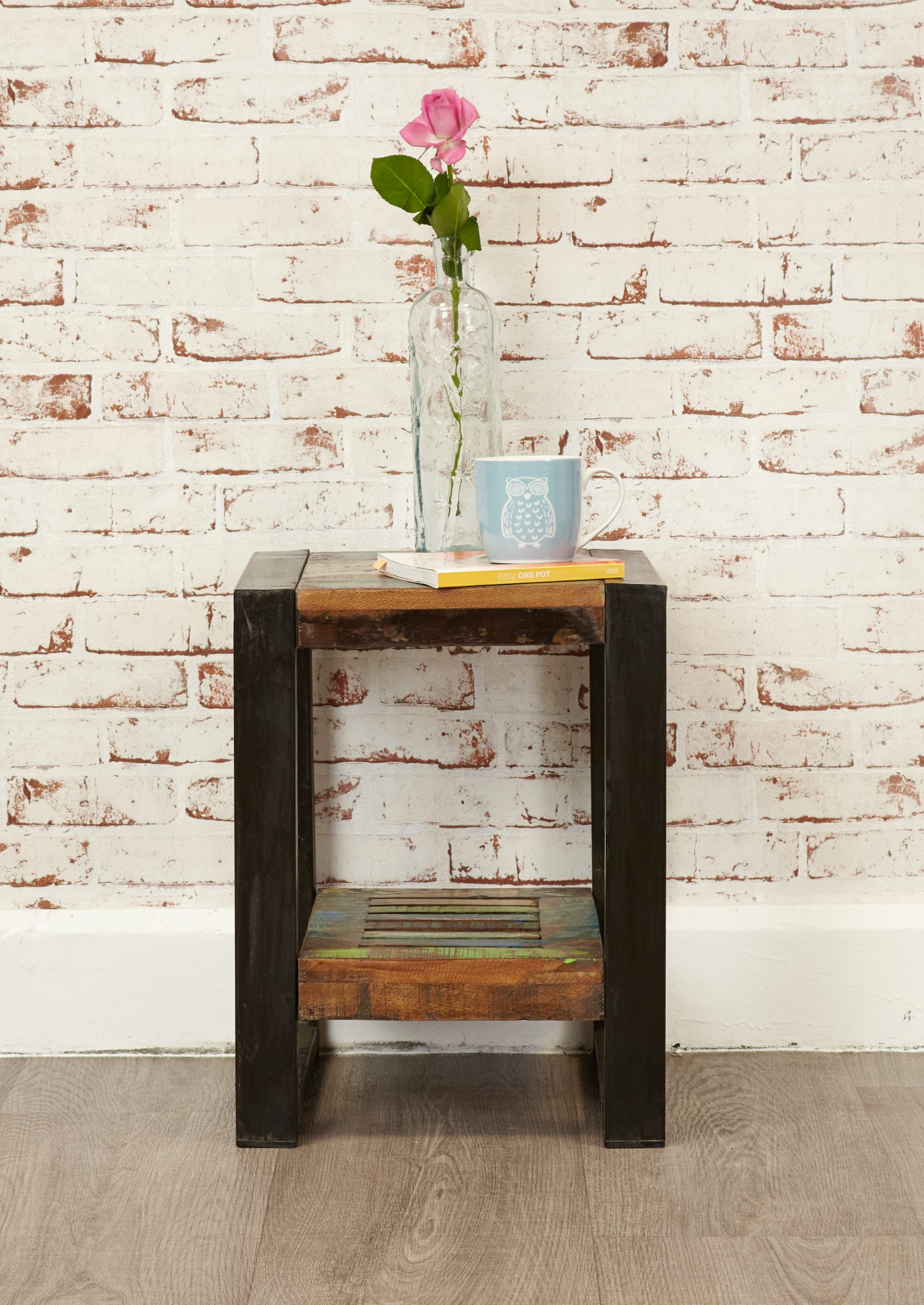 urban chic two tier lamp table