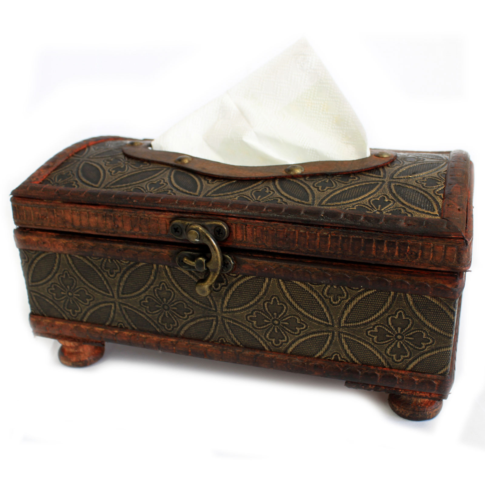 Classic Glamour style tissue box